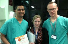 150 patients recruited at Queen's Medical Centre Campus Nottingham